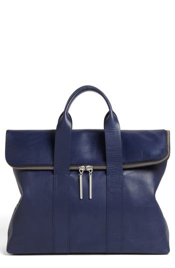 3.1 Phillip Lim '31 Hour' Leather Tote - Blue
