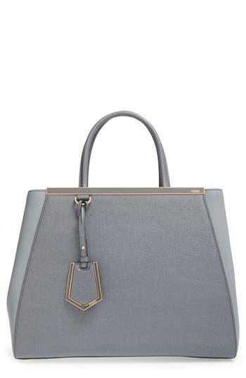 Fendi '2Jours Elite' Leather Shopper -