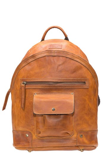 Men's Will Leather Goods 'Silas' Backpack - Brown