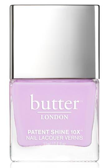Butter London 'Patent Shine 10X' Nail Lacquer - English Lavendar