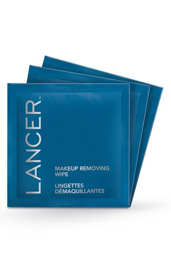 Lancer Skincare Makeup Removing Wipes - No Color