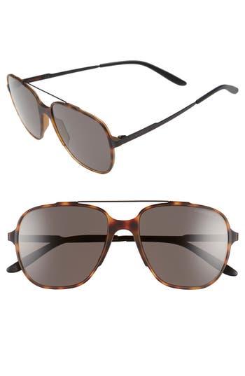 Carrera Eyewear 55Mm Aviator Sunglasses - Havana Black