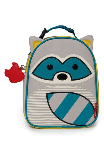 Toddler Skip Hop 'Zoo Lunchie - Raccoon' Insulated Lunch Bag -
