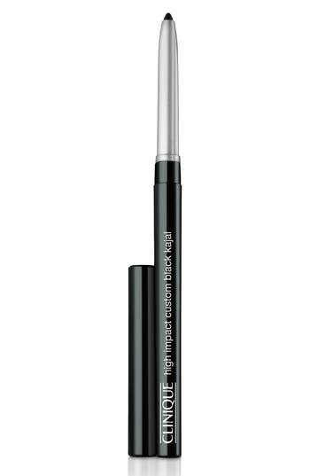 Clinique High Impact Custom Black Kajal Eyeliner Pencil - Black