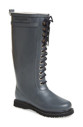 Ilse Jacobsen Hornbaek Rubber Boot Grey