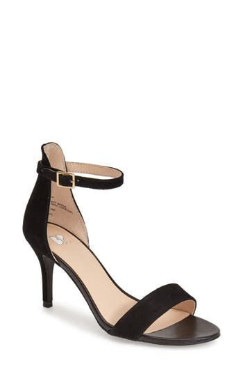 Women's Bp. 'Luminate' Open Toe Dress Sandal, Size 9.5 M - Black