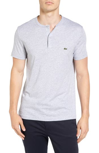 Lacoste Henley T-Shirt, Grey