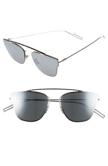 41be2244329 716737747223. Men s Dior Homme 57Mm Semi Rimless Sunglasses - Palladium