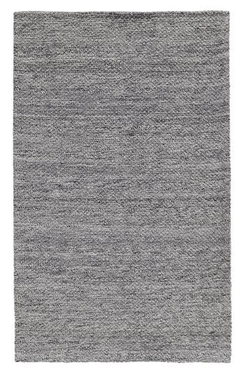 Villa Home Collection Heathered Wool Rug, Size Swatch - Grey
