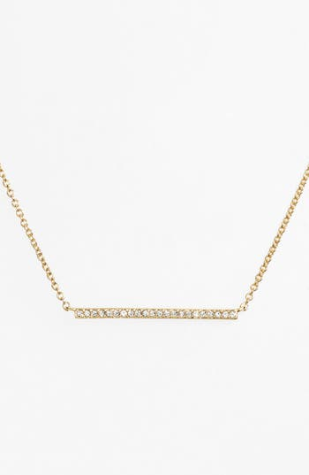 Women's Nadri Bar Pendant Necklace