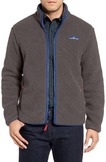 Southern Tide Fleece Zip Jacket