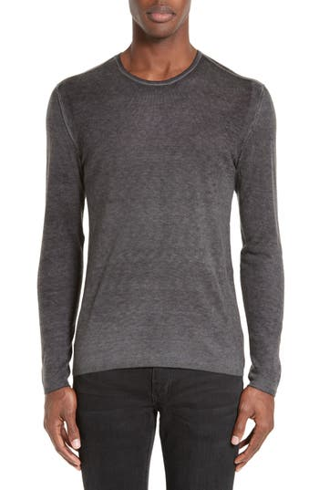 John Varvatos Silk & Cashmere Sweater