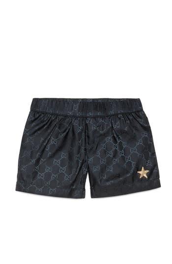 Toddler Boys Gucci Interlock Logo Swim Shorts