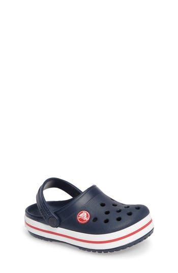 CROCSTM | Toddler Crocs(TM) Crocband Clog,3 M - Blue | Goxip