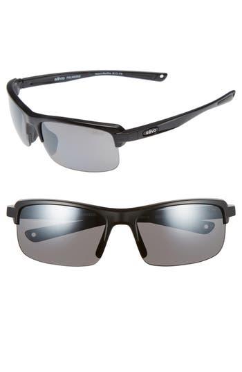 Men's Revo 'Crux N' 62Mm Polarized Sunglasses - Matte Black/ Graphite