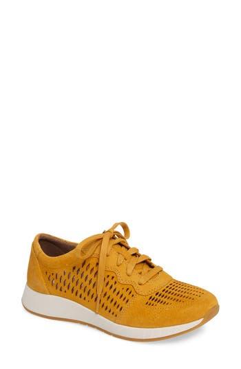 Dansko Charlie Perforated Sneaker - Yellow