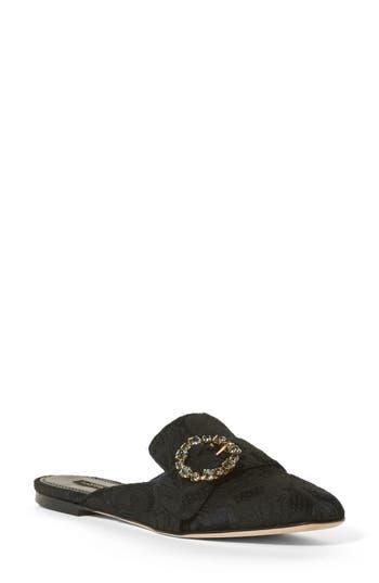 Women's Dolce & gabbana Embellished Backless Loafer