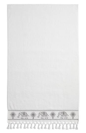 John Robshaw Yaji Bath Towel, Size One Size - Grey