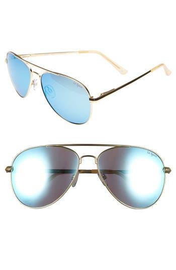 Le Specs Drop Top 60Mm Polarized Aviator Sunglasses -