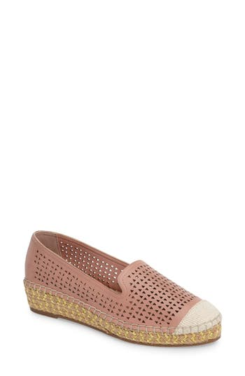 Bella Vita Channing Cutout Espadrille Loafer, Pink