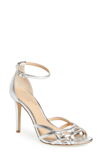 Jewel Badgley Mischka Haskell Ii Strappy Sandal- Metallic