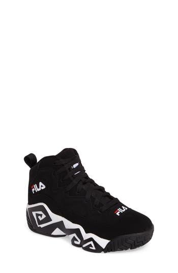 Boys Fila Heritage Sneaker Size 6 M  Black