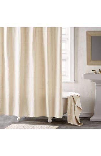 Dkny Geometrix Shower Curtain, Size One Size - Ivory