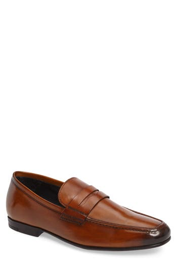 To Boot New York Alek Penny Loafer- Brown
