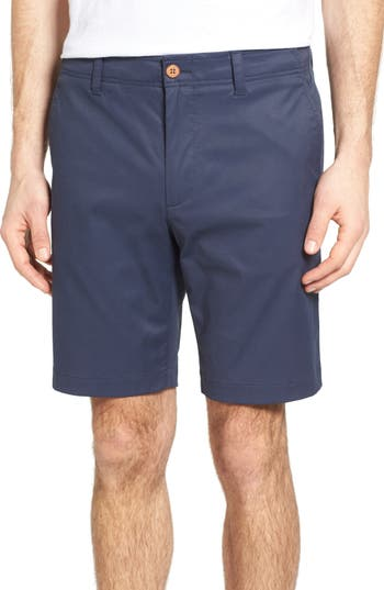 Tailor Vintage Performance Chino Shorts, Blue