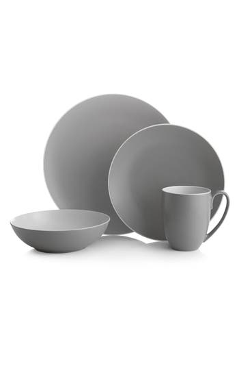 Nambe Pop 4-Piece Place Setting, Size One Size - Grey