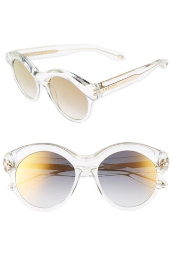 Women's Givenchy 54Mm Sunglasses - Crystal