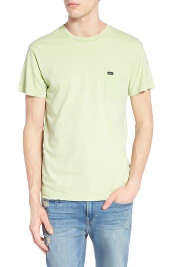 Rvca Ptc Fade T-Shirt, Green