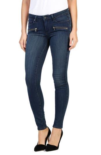 Paige Indio Zip Skinny Jeans