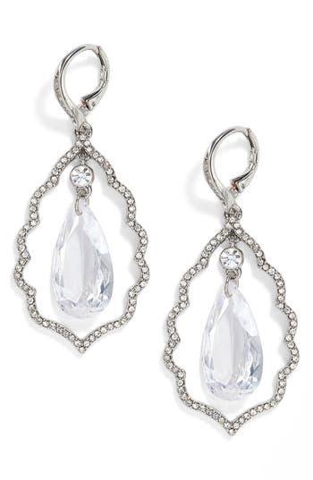 Women's Jenny Packham Orbital Crystal Drop Earrings