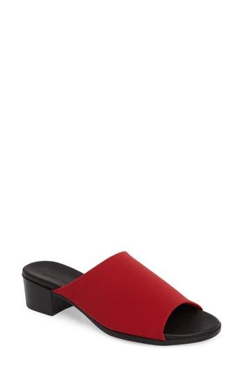 Munro Beth Slide Sandal, Red