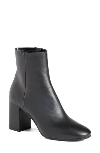 Balenciaga Block Heel Bootie, Black