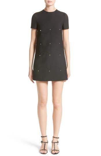 Valentino Studded Scallop Dress