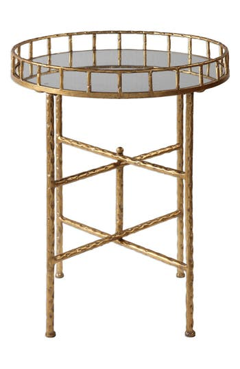 Uttermost Tilly Accent Table, Size One Size - Metallic