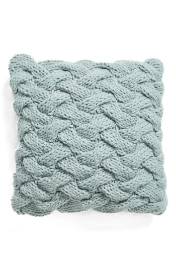Nordstrom At Home Basket Weave Accent Pillow, Size One Size - Blue/green