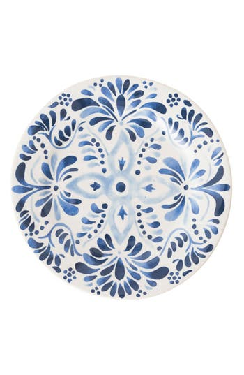 Juliska Wanderlust Collection - Sitio Stripe Stoneware Dinner Plate, Size One Size - Blue