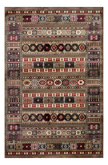 Couristan Cire Jerrico Area Rug, ft 0in x 3ft 11in - Brown
