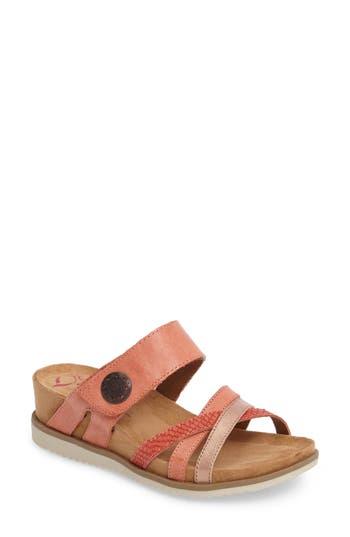 Comfortiva Lexa Slide Sandal, Coral