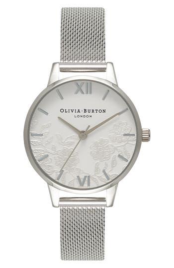 Women's Olivia Burton Mesh Strap Watch, 30Mm
