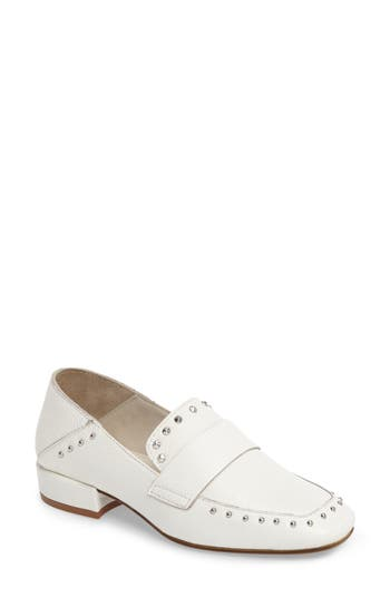 Kenneth Cole New York Bowan 2 Convertible Drop Heel Loafer, White