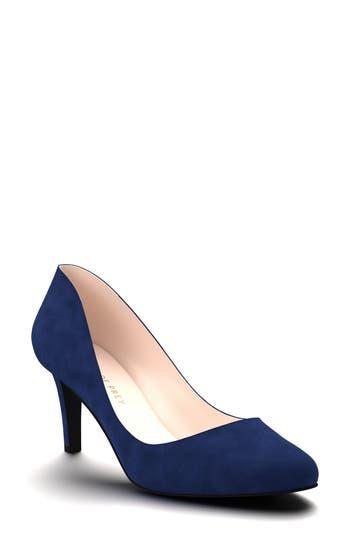 Shoes Of Prey Round Toe Pump - Blue