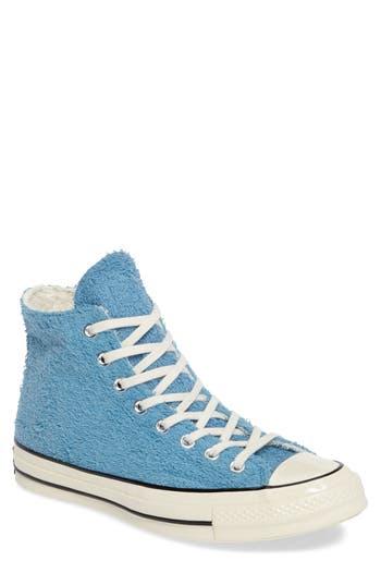 Converse Chuck Taylor All Star Terry Cloth Hi Sneaker, Blue