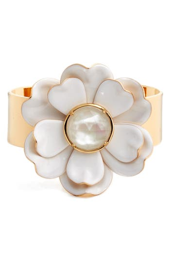 Women's Kate Spade New York Bright Blossom Flower Cuff