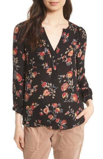 Women's Joie Brittin Floral Silk Top