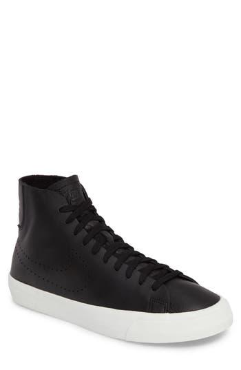 Nike Blazer Studio Mid Sneaker, Black