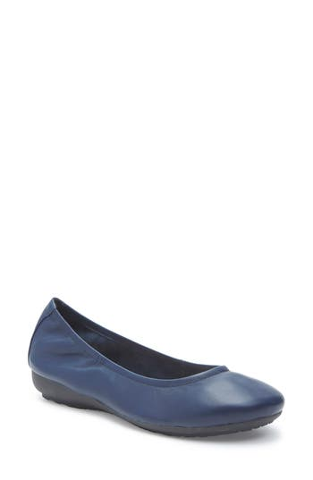 Me Too Janell Sliver Wedge Flat- Blue
